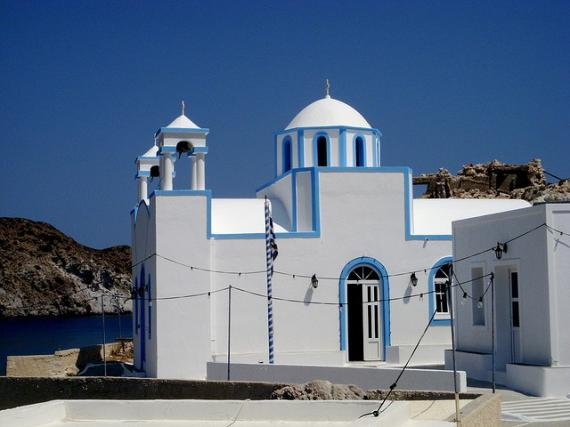 'Firopotamos Beach Church' - Μήλος